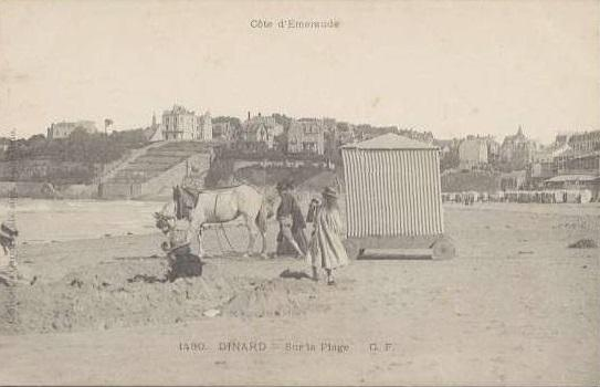 Dinard cabine cheval2