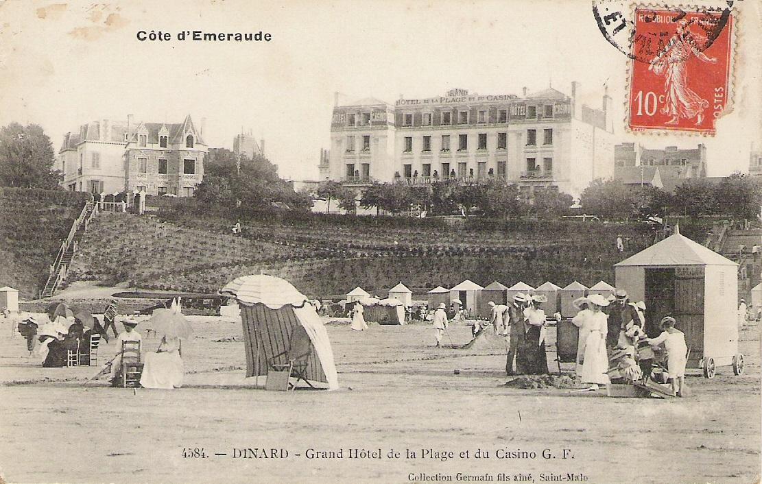 Dinard hotel de la plage