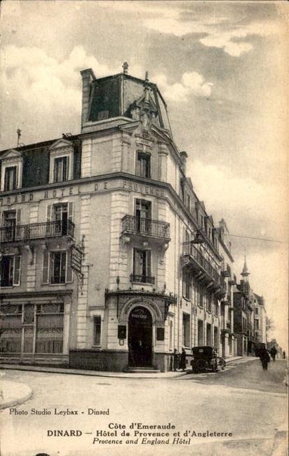 Hotel de provence et d angleterre