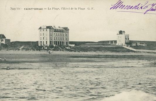 Stbriac hotel de la plage